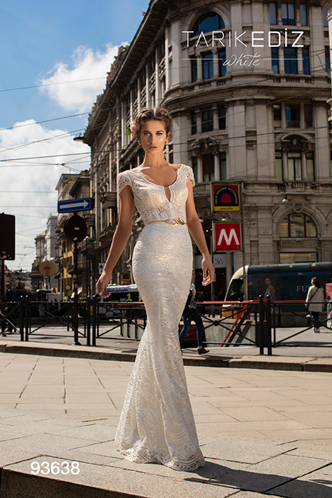93638 Wedding                                          dress by Tarik Ediz: White