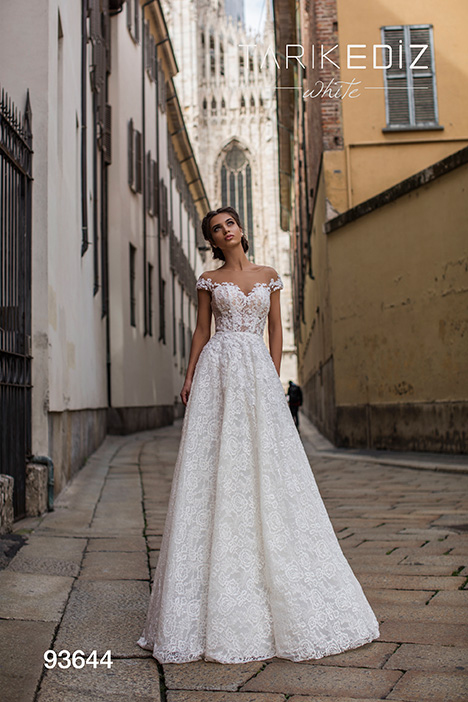93644 Wedding                                          dress by Tarik Ediz: White
