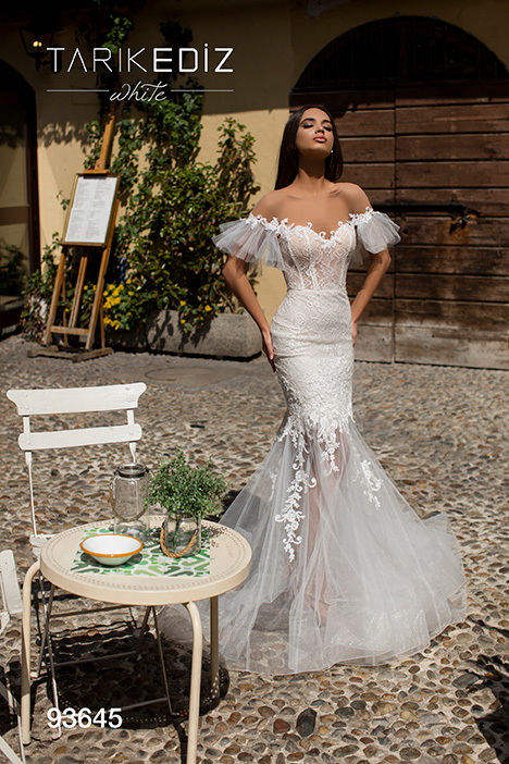 93645 Wedding                                          dress by Tarik Ediz: White