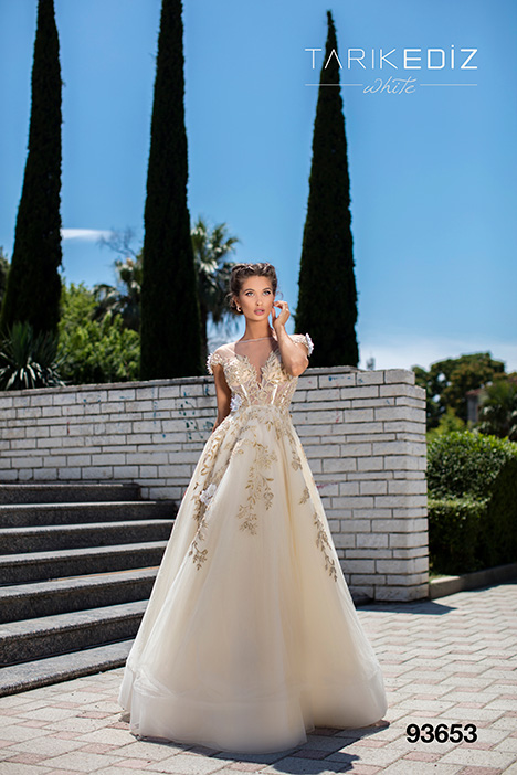 93653 Wedding                                          dress by Tarik Ediz: White