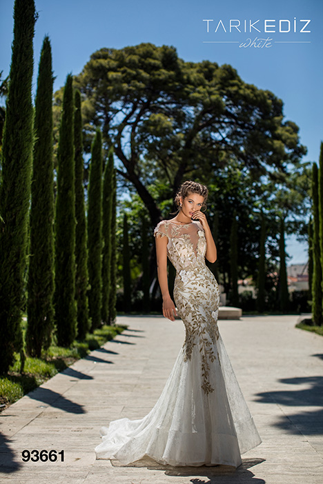 93661 gown from the 2019 Tarik Ediz: White collection, as seen on dressfinder.ca