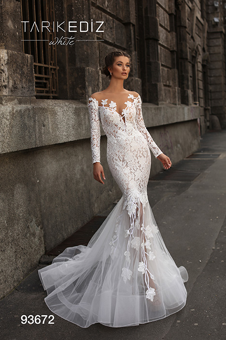 93672 Wedding dress by Tarik Ediz: White