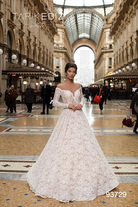93729 Wedding dress by Tarik Ediz: White