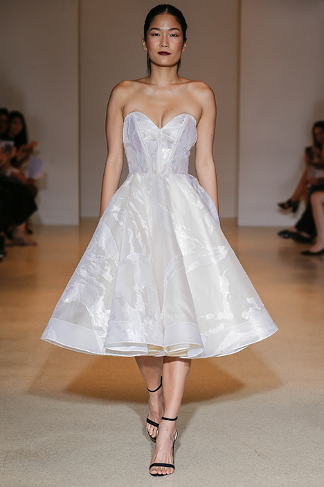 Terre Verta Wedding                                          dress by Carol Hannah