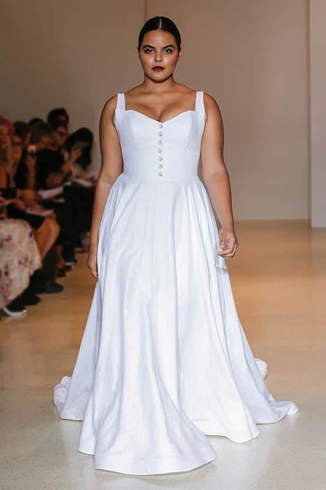Sable Wedding                                          dress by Carol Hannah