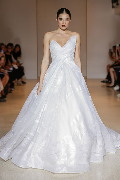 Aquarelle Wedding                                          dress by Carol Hannah
