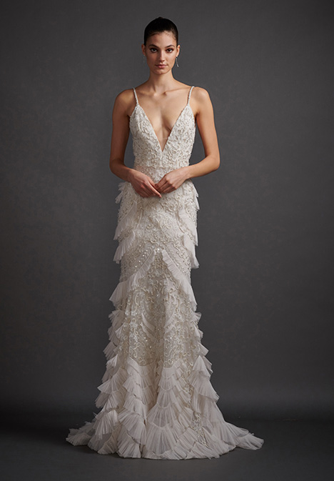 Tatiana 3901 Wedding                                          dress by Lazaro