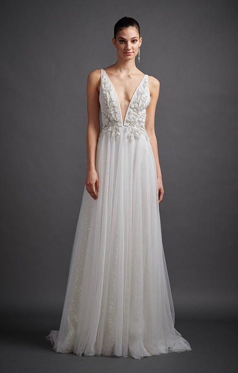 Alma Wedding                                          dress by Lazaro
