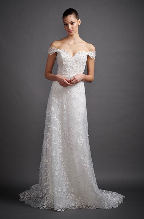 Bea 3906 Wedding                                          dress by Lazaro