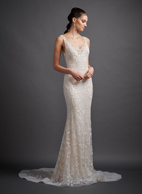 Cynthia 3909 Wedding                                          dress by Lazaro