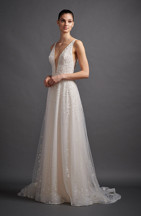 Isidora 3910 Wedding                                          dress by Lazaro