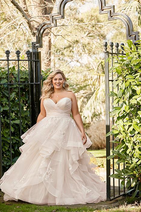 Y11958 + Wedding                                          dress by Sophia Tolli