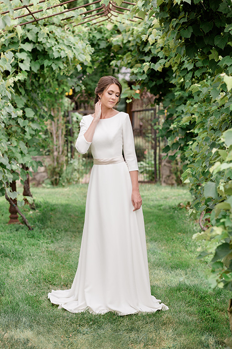 TR11971 Wedding                                          dress by Modest by Mon Cheri