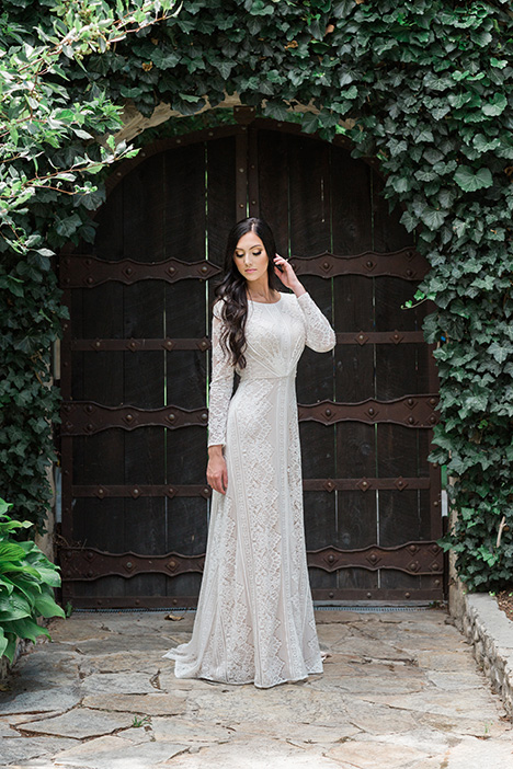 Style TR11983 gown from the 2019 Modest by Mon Cheri collection, as seen on dressfinder.ca