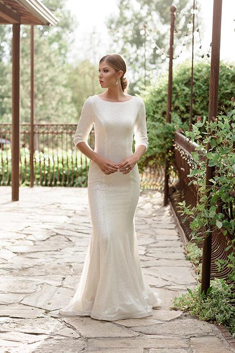 TR11984 Wedding                                          dress by Modest by Mon Cheri