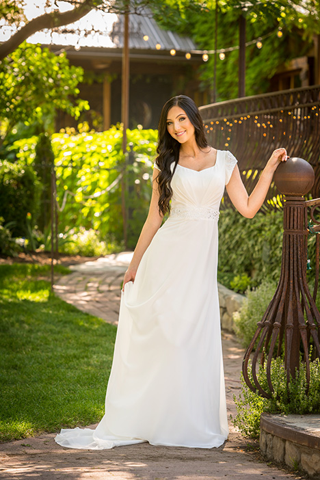 TR11986 Wedding                                          dress by Modest by Mon Cheri