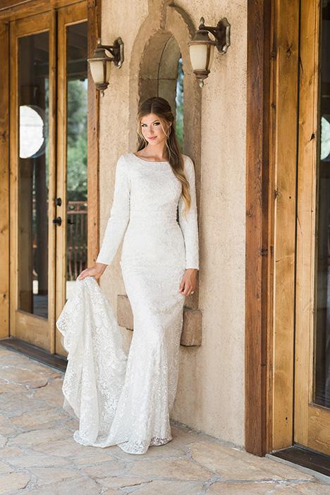 TR11987 Wedding                                          dress by Modest by Mon Cheri