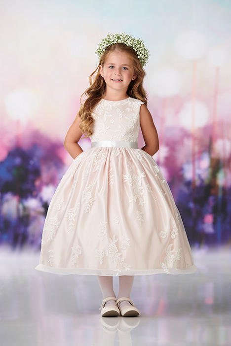 119376 Flower Girl                                      dress by Joan Calabrese
