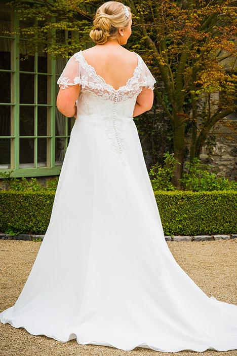 BBP18702 (back) Wedding                                          dress by Bridalane: Beautiful Brides Plus