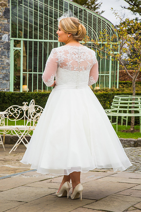 BBP18717 (back) Wedding                                          dress by Bridalane: Beautiful Brides Plus