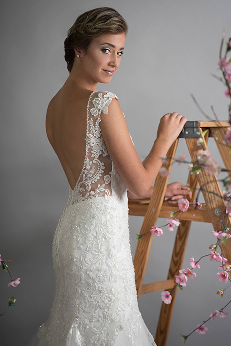 702 (back) Wedding                                          dress by Bridalane