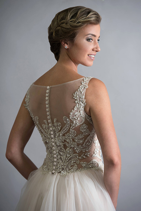 706 (back) Wedding                                          dress by Bridalane