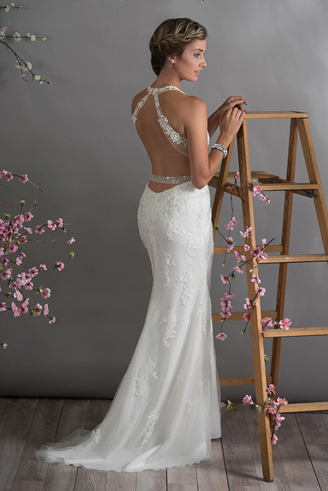708 (back) Wedding                                          dress by Bridalane