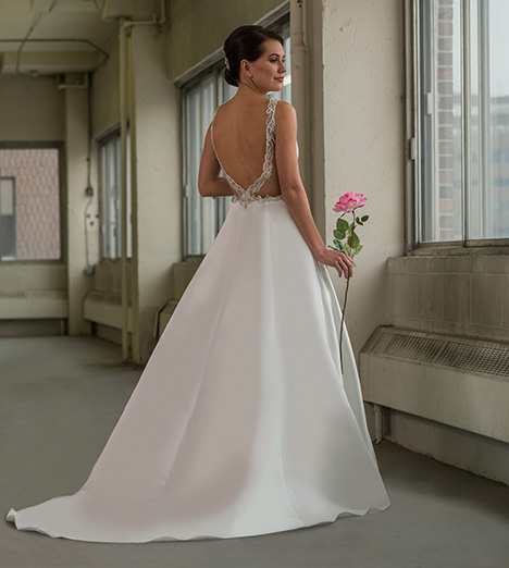 801 (back) Wedding                                          dress by Bridalane