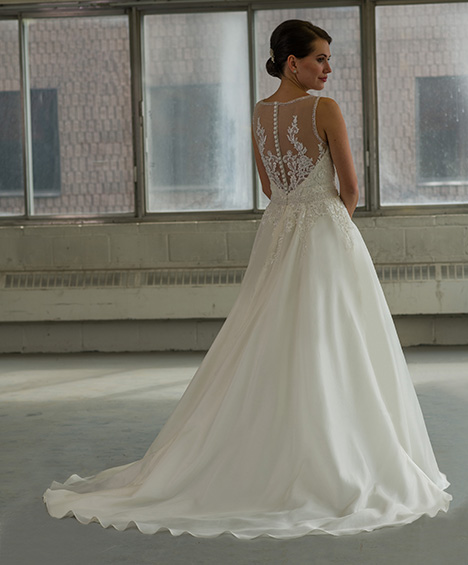 802 (back) Wedding                                          dress by Bridalane