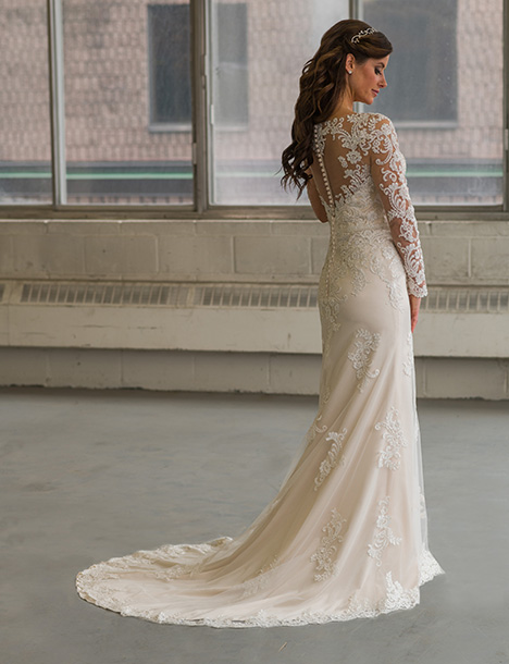 805 (back) Wedding                                          dress by Bridalane