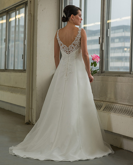 809 (back) Wedding                                          dress by Bridalane