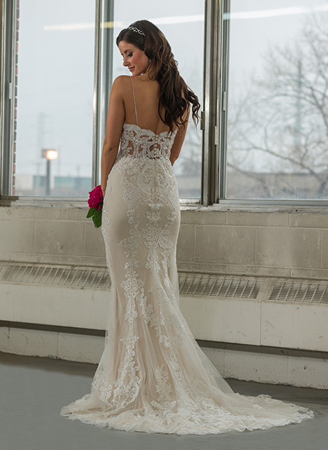 gp1104 (back) Wedding                                          dress by Grace by Bridalane