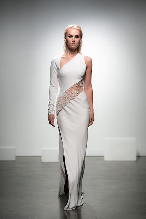 Pavlova gown from the 2019 Rime Arodaky Bridal collection, as seen on dressfinder.ca