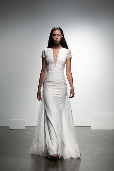 Balanchine Wedding                                          dress by Rime Arodaky Bridal
