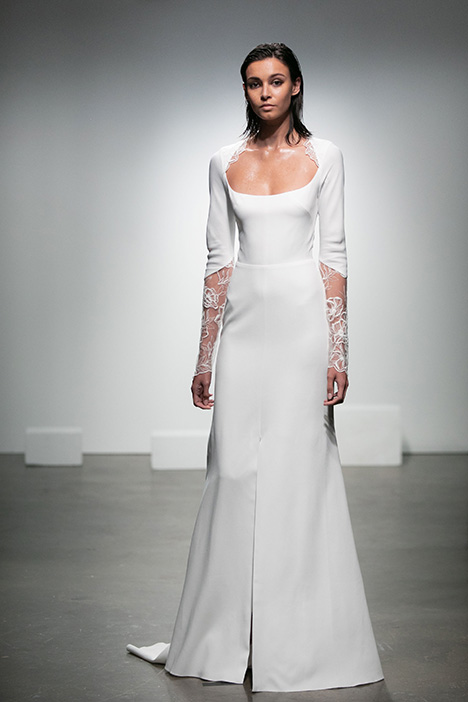 Pietra gown from the 2019 Rime Arodaky Bridal collection, as seen on dressfinder.ca
