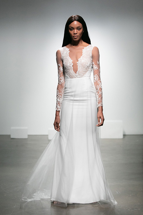 Ailey Wedding                                          dress by Rime Arodaky Bridal