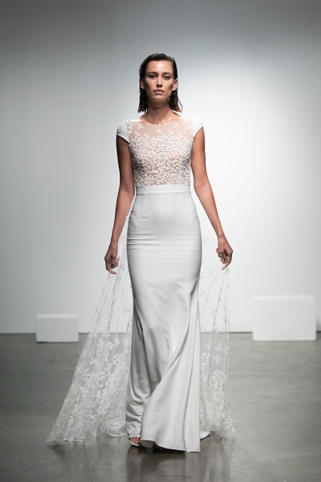Alvin gown from the 2019 Rime Arodaky Bridal collection, as seen on dressfinder.ca