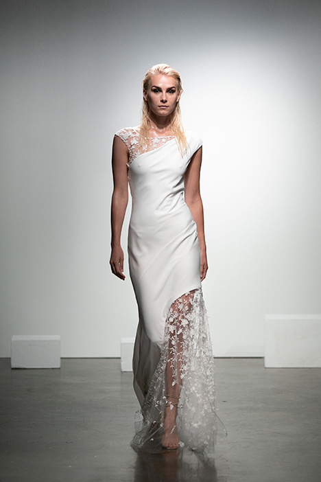 Trilby gown from the 2019 Rime Arodaky Bridal collection, as seen on dressfinder.ca