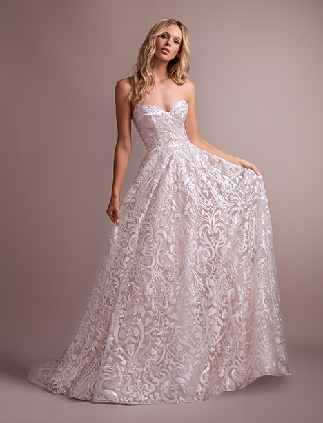 Marsden (6900) gown from the 2019 Hayley Paige collection, as seen on dressfinder.ca
