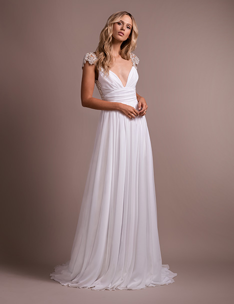 Kemper Wedding                                          dress by Hayley Paige