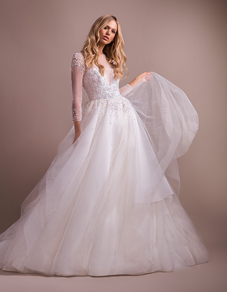 Effie Wedding                                          dress by Hayley Paige