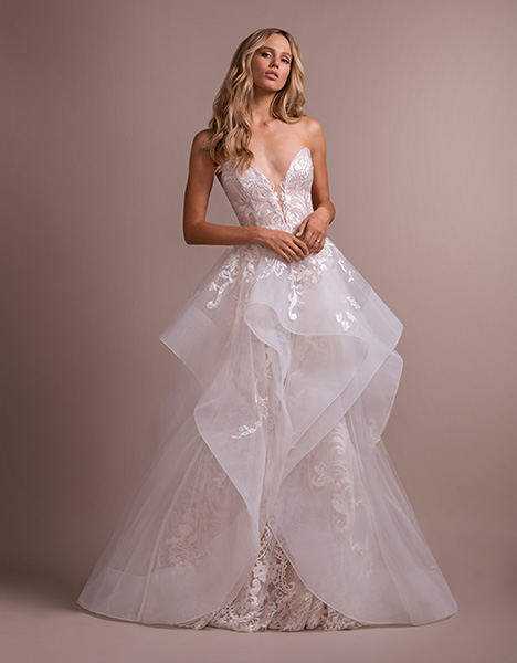 Elke (6914) (2) Wedding                                          dress by Hayley Paige