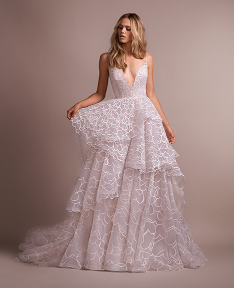 Rad Wedding                                          dress by Hayley Paige
