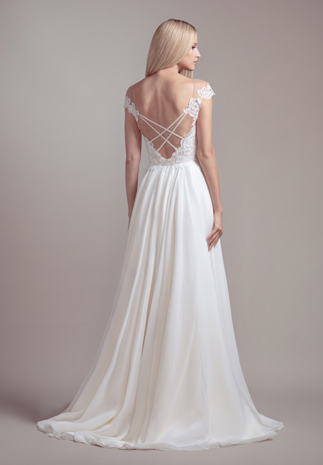 Soleil (1902) (back) Wedding                                          dress by Blush by Hayley Paige