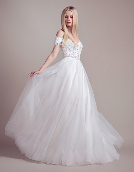 Jojo (1908) Wedding                                          dress by Blush by Hayley Paige
