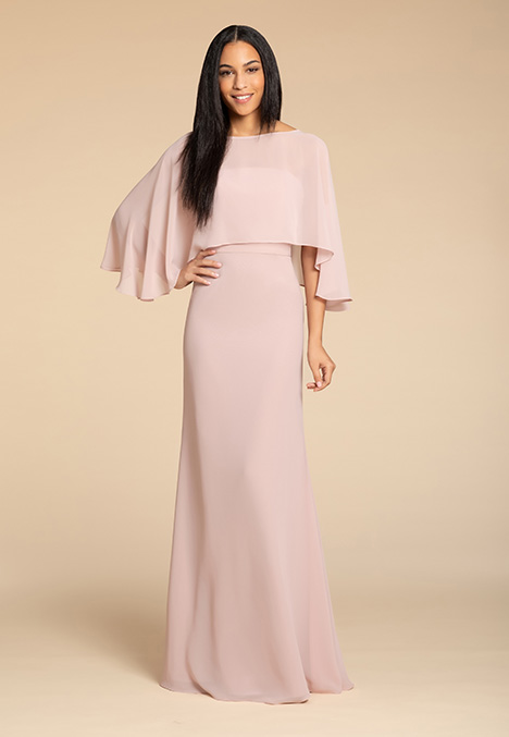 5906 (+ cape) Bridesmaids                                      dress by Hayley Paige: Occasions