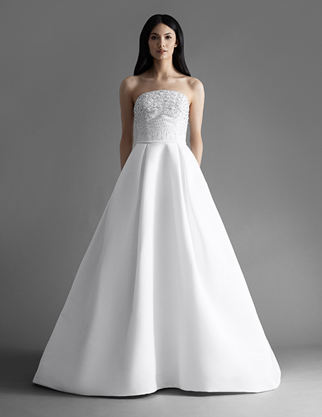 Carlton (4904) gown from the 2019 Allison Webb collection, as seen on dressfinder.ca