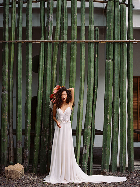 F152S Zia Wedding                                          dress by Wilderly Bride