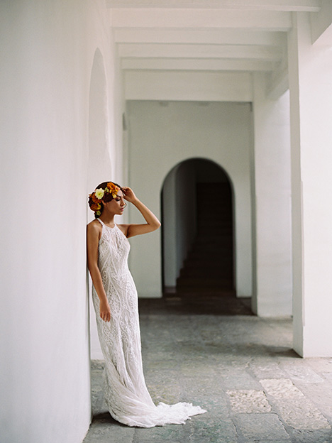 F153 Maeve Wedding                                          dress by Wilderly Bride