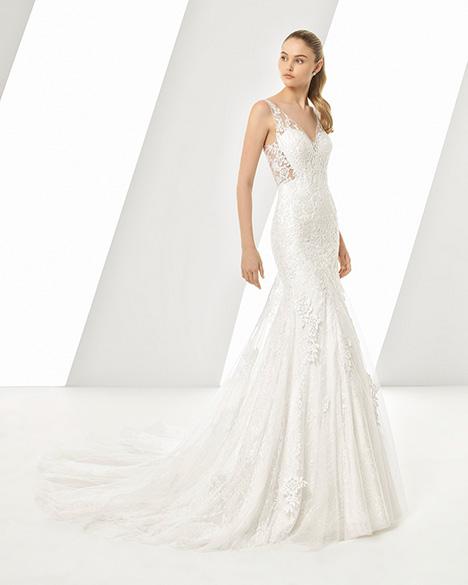 DASTON (3A229) Wedding                                          dress by Rosa Clara